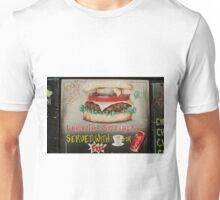 Cheeseburger at the Cafe Unisex T-Shirt