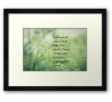 Jane Eyre Future Framed Print