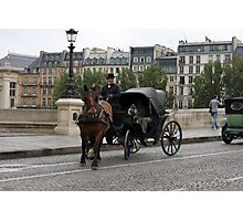 Paris in retro style Photographic Print