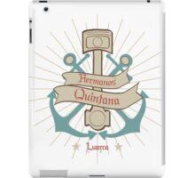Taller Hermanos Quintana Garaje Luarca Asturias iPad Case/Skin