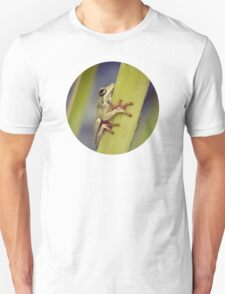 Arum lily frog Unisex T-Shirt