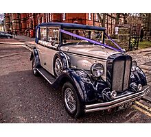 HDR Rolls Royce #2 Photographic Print