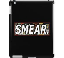 Jean Michel Basquiat Smear Sticker iPad Case/Skin