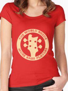 Bass Guitar Players Women's Fitted Scoop T-Shirt
