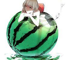 Watermelon girl by skycn520