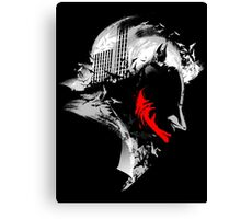 Bat on My Mind Canvas Print