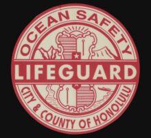 Hawaii Lifeguard Logo Kids Tee