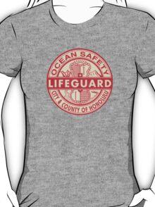 Hawaii Lifeguard Logo T-Shirt