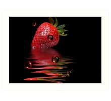 Bubble Berry Art Print