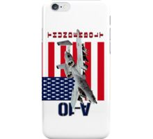 A-10 Thunderbolt  iPhone Case/Skin