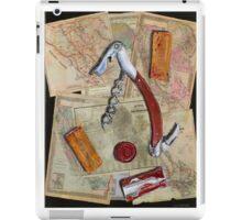 California Wine Terravina cork screw iPad Case/Skin