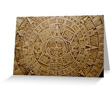 Aztec Symbol Greeting Card