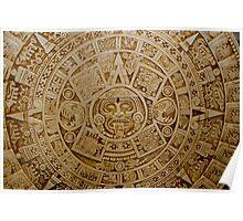 Aztec Symbol Poster