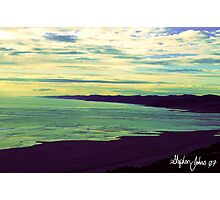 Raglan Sea Scape Photographic Print