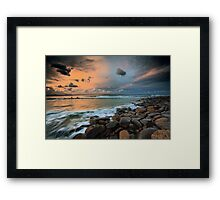 Evening calm Framed Print