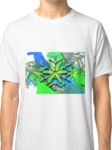 Snowflake Montage Classic T-Shirt