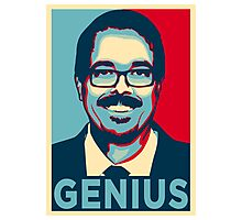 VINCE GILLIGAN GENIUS Photographic Print