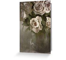 Antique Roses Greeting Card