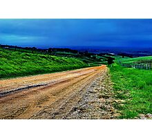 """""""Gully Road"""" Photographic Print"""