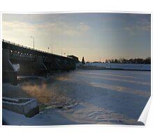 Lockport Bridge view III Poster