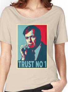 CIGARETTE SMOKING MAN TRUST NO 1 Women's Relaxed Fit T-Shirt