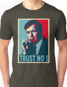 CIGARETTE SMOKING MAN TRUST NO 1 Unisex T-Shirt
