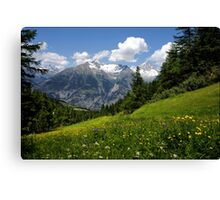 Switzerland Landscape Canvas Print