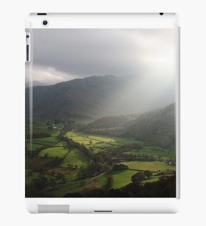 Natural Spotlight On Borrowdale Valley iPad Case/Skin