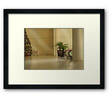 Merry Christmas from Singapore Framed Print
