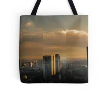 Singapore Cityscape Tote Bag