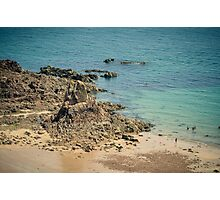 Beauport Bay at Low Tide Photographic Print