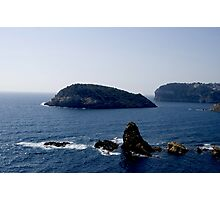 Cap Prim a view of the Med (Javea Spain 2007) Photographic Print