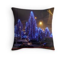 trees of the azure Throw Pillow