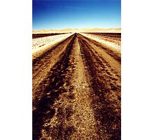 Remote road Photographic Print