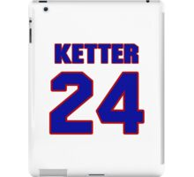 National Hockey player Kerry Ketter jersey 24 iPad Case/Skin