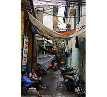 The Dark Alley - Hanoi, Vietnam. Photographic Print