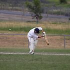 Bowled....Middle Stump by sportzshotz