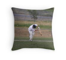 Bowled....Middle Stump Throw Pillow