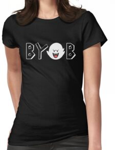 Bring Your Own Boos Womens Fitted T-Shirt