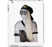 Snapback Girl iPad Case/Skin