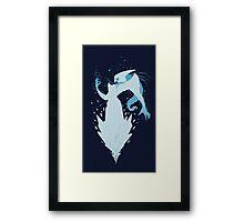 Lissandra Rock Blue Framed Print