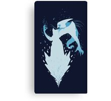 Lissandra Rock Blue Canvas Print