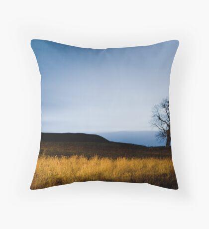 Dawn by Torchlight Throw Pillow