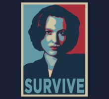 DANA SCULLY SURVIVE by Théo Proupain
