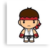 Karate Guy Canvas Print