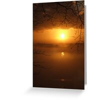 Golden Brown Greeting Card