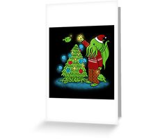 Cthulhu Christmas Greeting Card