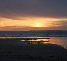 Ballybunnion Sunset 2 by Pat Herlihy