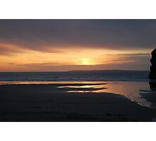 Ballybunnion Sunset 2 Photographic Print