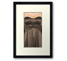 A dress to dress your phone Framed Print